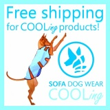 SOFA Dog Wear - Free shipping for COOling products 30. 7. - 6. 8. 2017