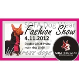 SOFA Dog Wear - Double CACIB Praha  3. - 4. 11. 2012