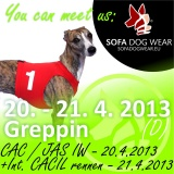 SOFA Dog Wear - 20. - 21. 4. 2013 - Greppin (D)