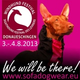 SOFA Dog Wear - Sighthound Festival Donaueschingen, 3rd and 4th August, Germany