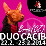 SOFA Dog Wear - DUO CACIB BRNO 22.2. - 23.2.2014